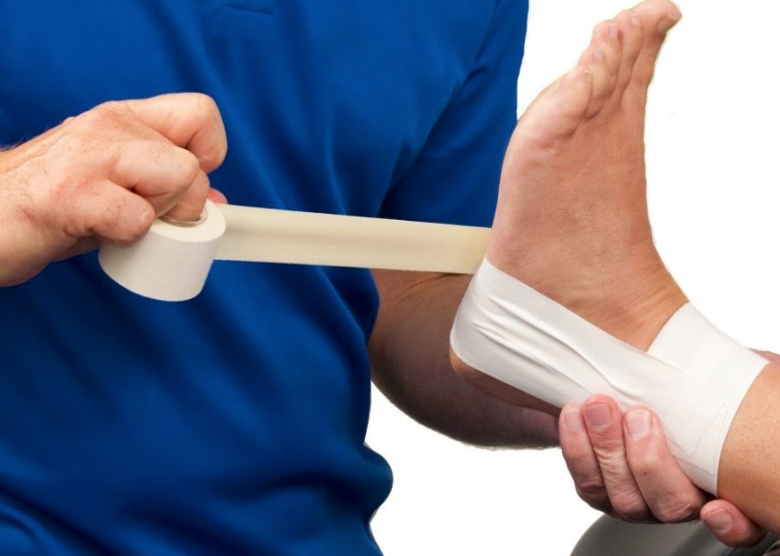 Bandageren en sporttape - Massagepraktijk Jansen te Deurne