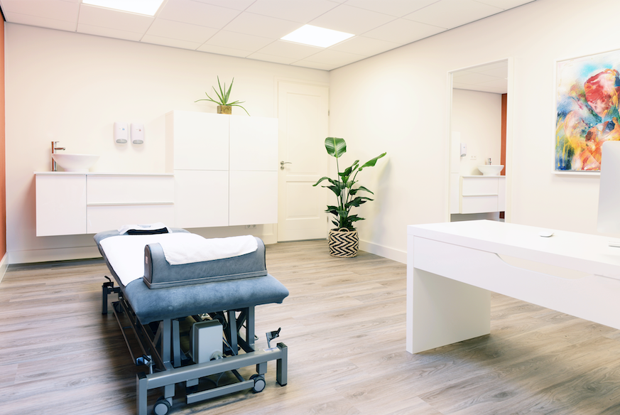 Behandelkamer- Massage Deurne - Massagepraktijk Jansen