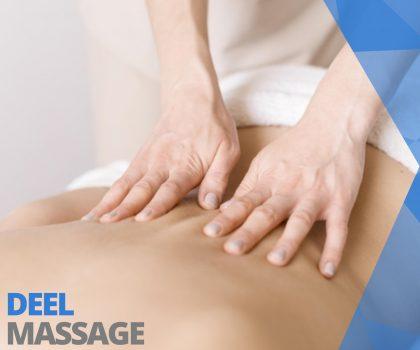 Deelmassage Massagepraktijkjansen Deurne